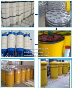 Carbon-steel-Cement-Silo-Filter-and-cement-cartridge-dust-collector