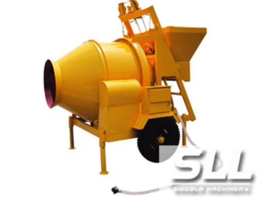 JZC portable concrete mixer machine