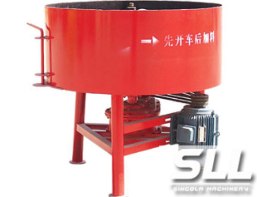 Forced Concrete Mixer