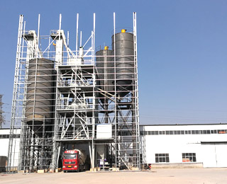 dry mortar mix plant