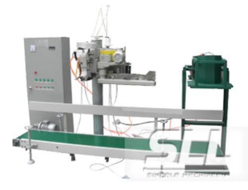 Exposure packing machine