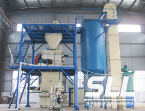 Semi Automatic Dry Mortar Plant