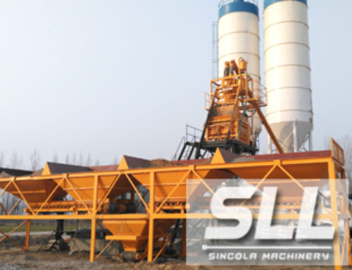 HZS35 Wet Mix Concrete Batching Plant