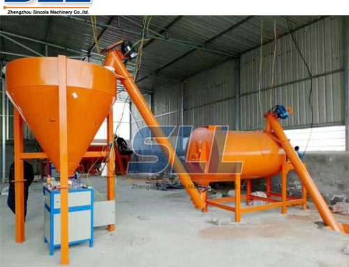 Precautions of horizontal dry powder mixer before using